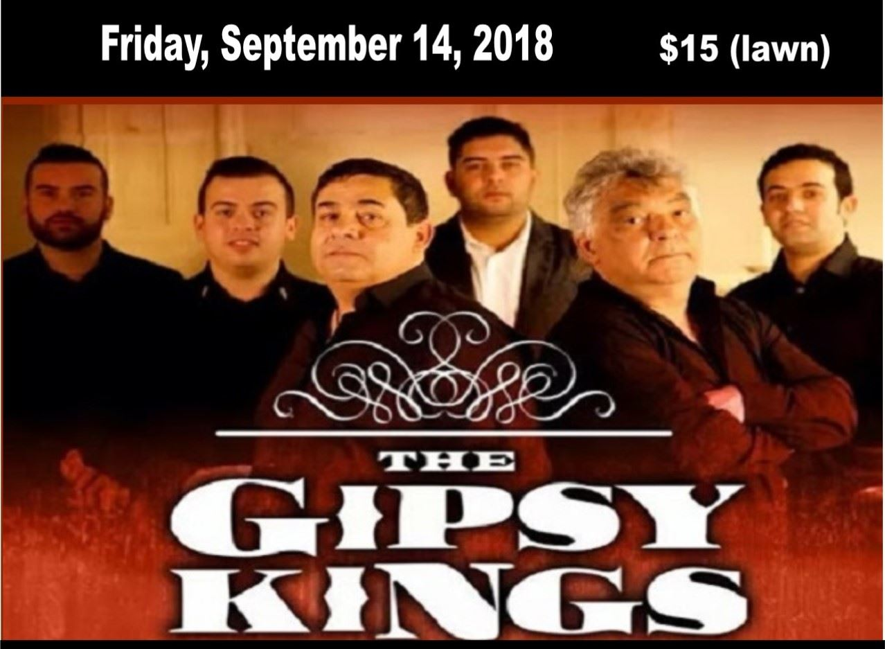 Gipsy Kings at Ravinia Web