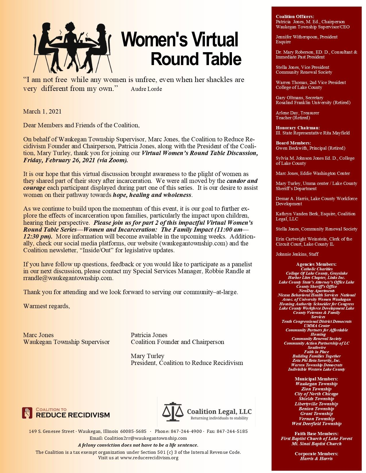 Round Table Part 1 thank you