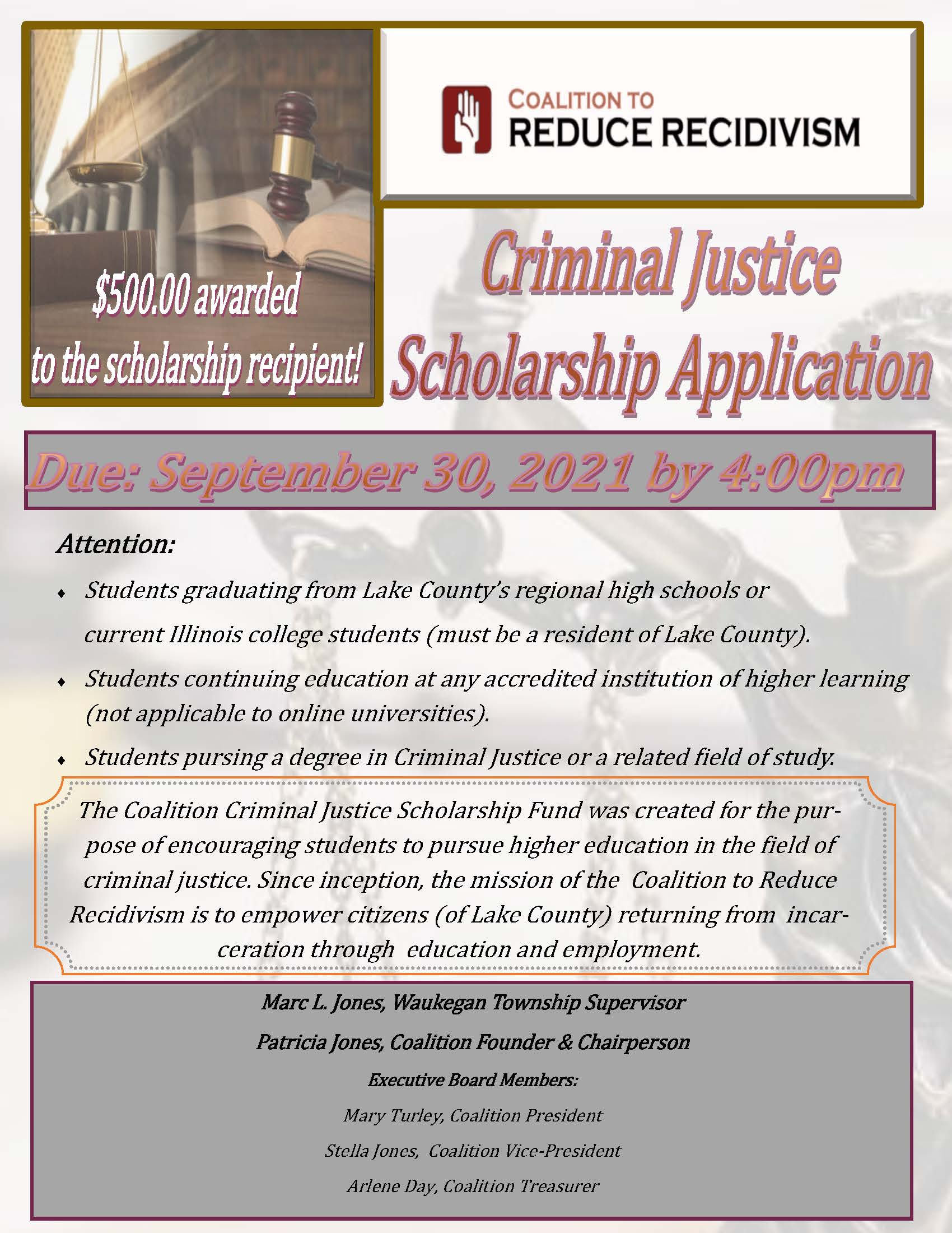2021 Annual Criminal Justice Scholarship Application (1) (1)_Page_1